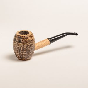 Country Gentleman Corn Cob Pipe w/ Bent Bit