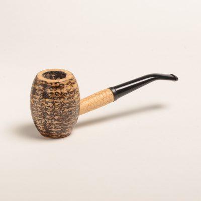 Country Gentleman Corn Cob Pipe w/ Bent Bit