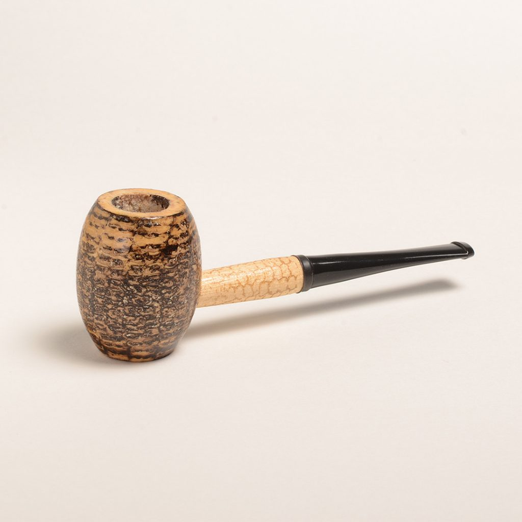 Country Gentleman Corn Cob Pipe w/ Straight Bit