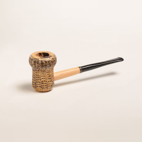 Patriot Corn Cob Pipe (Straight Bit)
