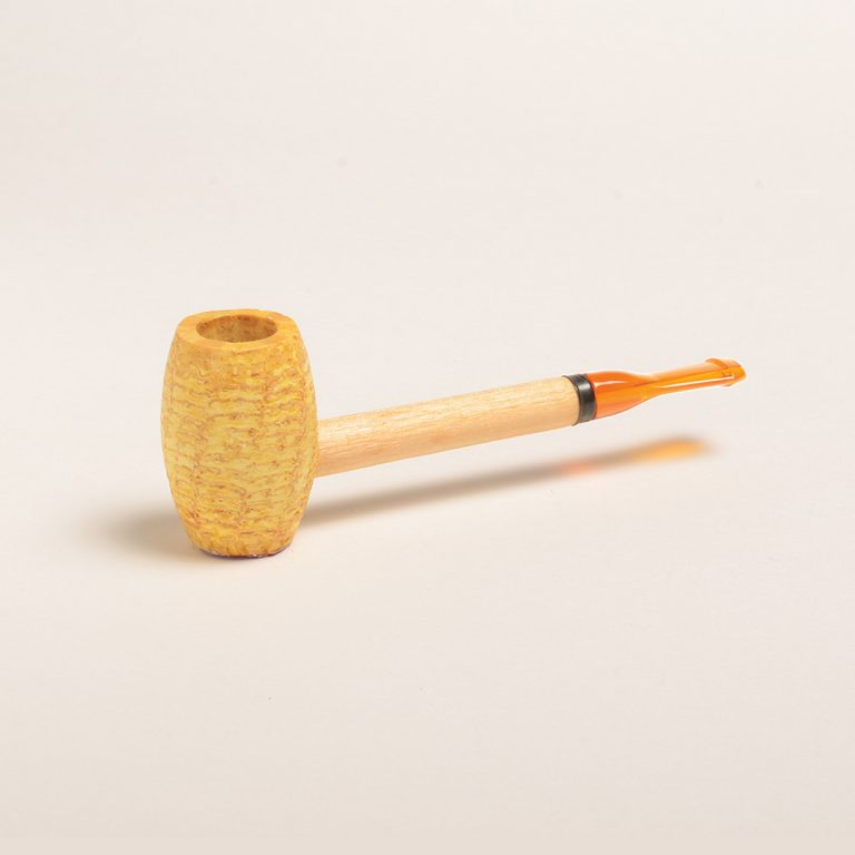 Pony Express Corn Cob Pipe (Straight)