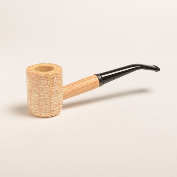 Washington Corn Cob Pipe (5th Avenue Bowl - Bent Bit) from Missouri Meerschaum
