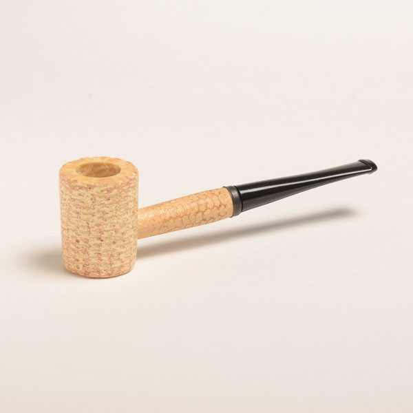 Washington Corn Cob Pipe (Flat Bowl - Straight Bit) from Missouri Meerschaum)
