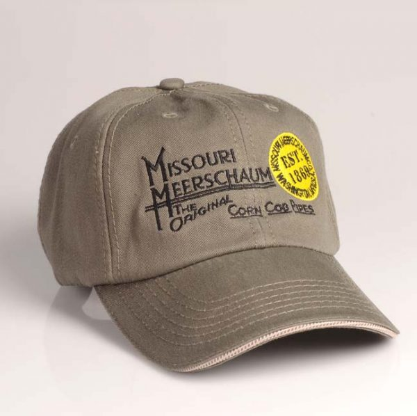 Missouri Meerschaum Premium Olive Hat w/ Logo