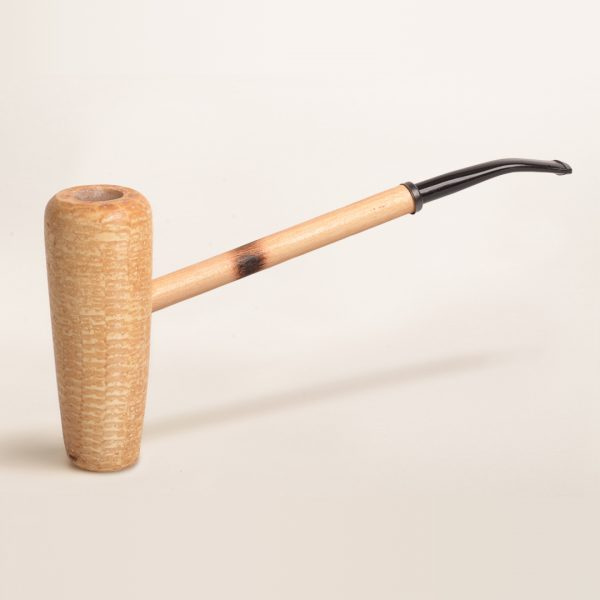 MacArthur 5-Star Polished Corn Cob Pipe