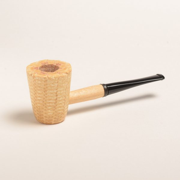 Mark Twain Corn Cob Pipe w/ Straight Bit