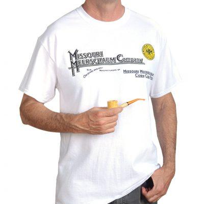 White Missouri Meerschaum T-Shirt