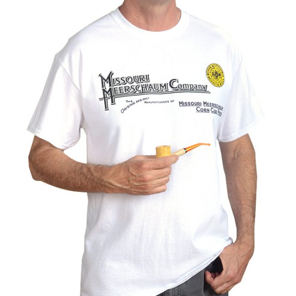 White Missouri Meerschaum T-Shirt