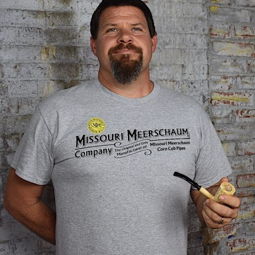 Missouri Meerschaum Short Sleeve Grey T-Shirt