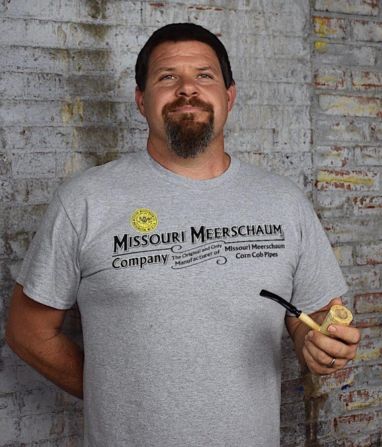 Missouri Meerschaum Short Sleeve Grey T-Shirt