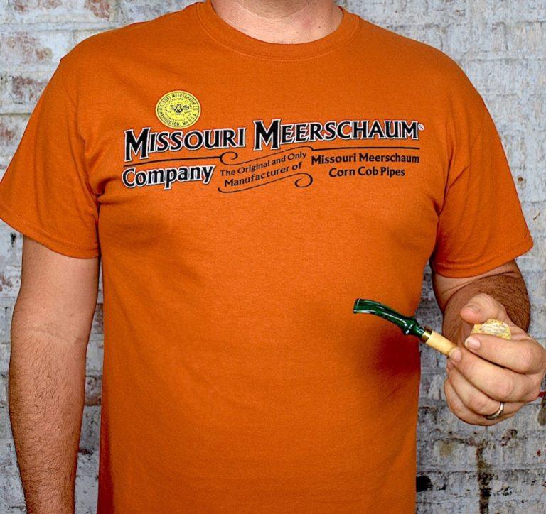 Missouri Meerschaum Short Sleeve Texas Orange T-Shirt