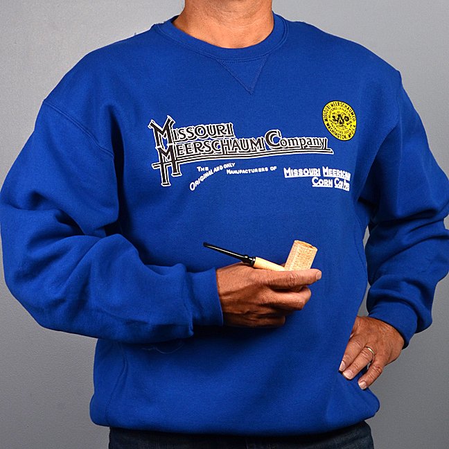 Missouri Meerschaum Long Sleeve Royal Blue Sweatshirt