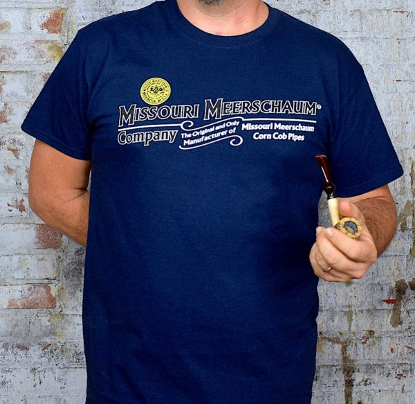 Missouri Meerschaum Short Sleeve Navy Blue T-Shirt