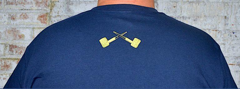 Navy Blue Short Sleeve T-Shirt-550084
