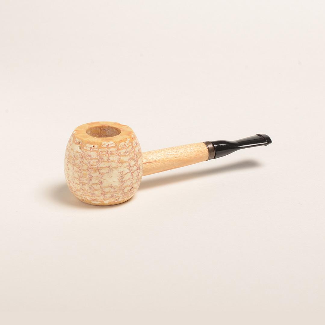 Polished Morgan Corn Cob Pipe-0