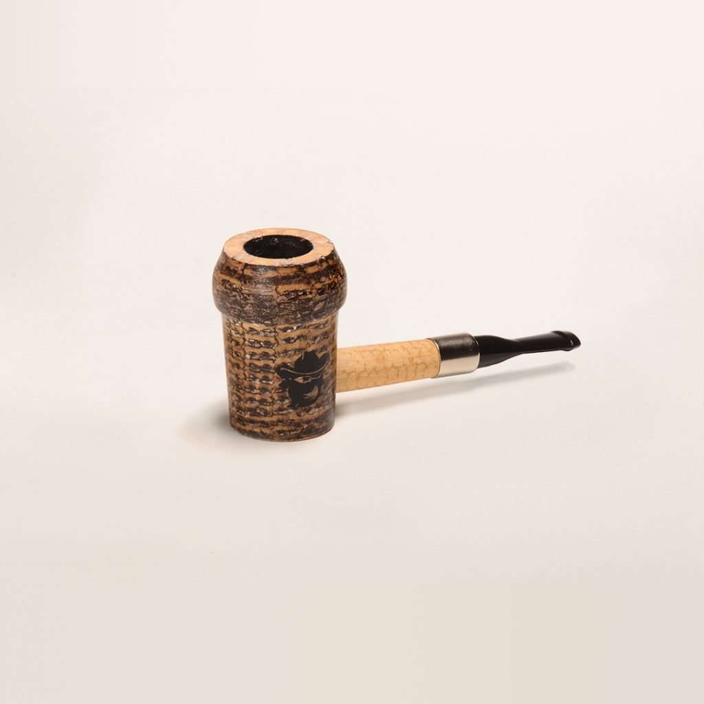 Belle Starr Corn Cob Pipe from the Missouri Meerschaum Outlaws Collection