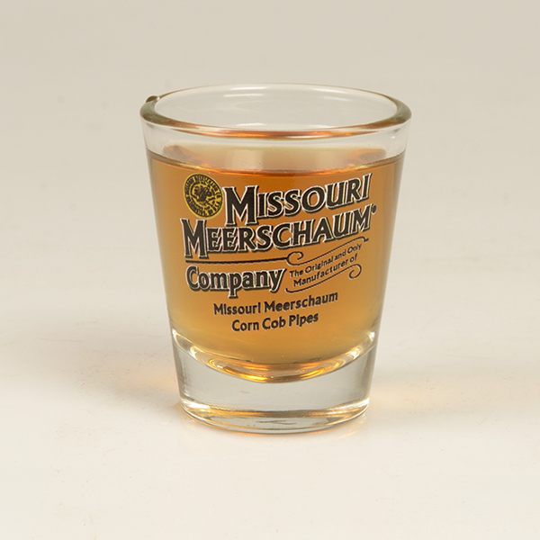 Missouri Meerschaum Logo Shot Glass