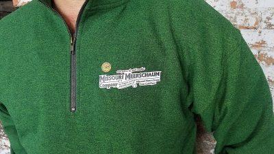 Green Quarter Zip Sweatshirt-550130