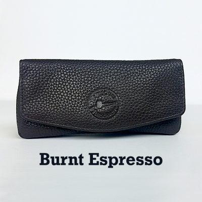 Missouri Meerschaum Leather Pipe Pouch - Burnt Espresso