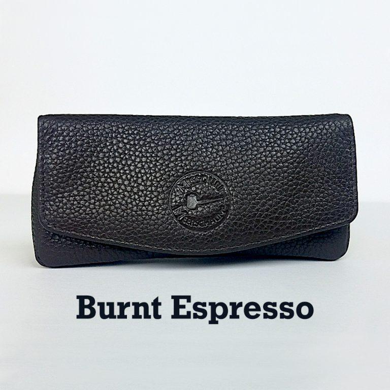 Missouri Meerschaum Leather Pipe Pouch - Burnt Espresso