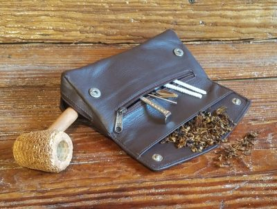 Missouri Meerschaum Leather Pipe Pouches-550124