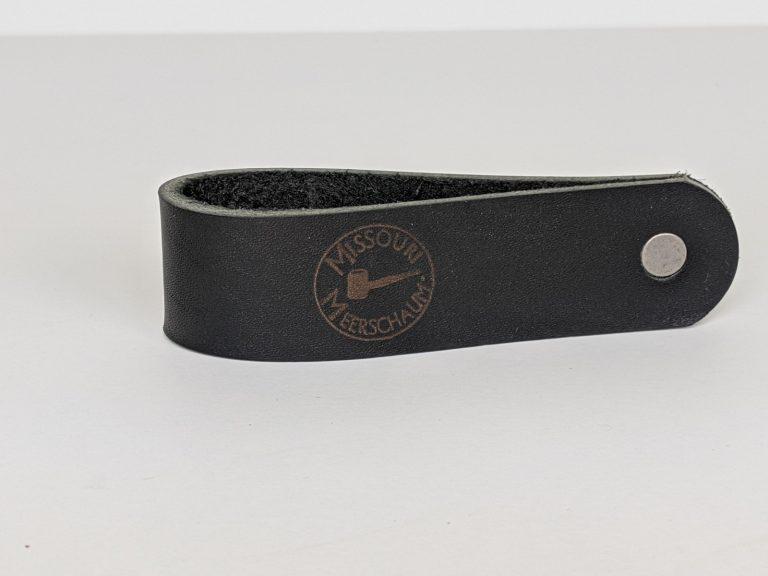 Missouri Meerschaum Leather Pipe Stands-550173