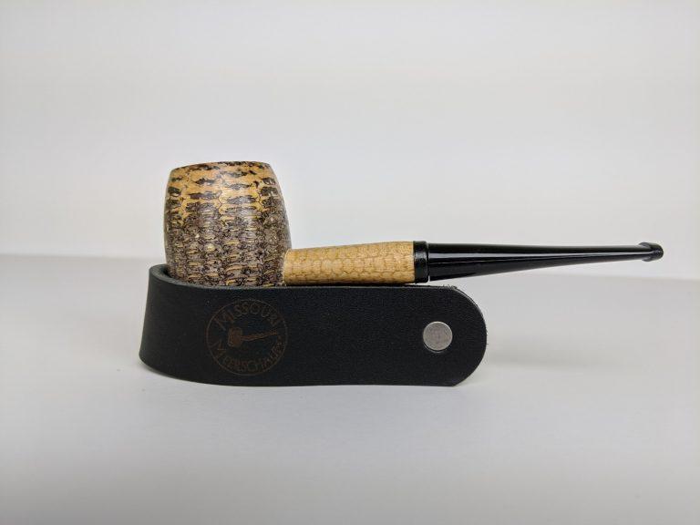 Missouri Meerschaum Leather Pipe Stands-550174