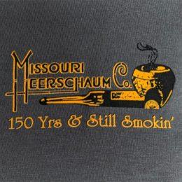 Grey Long Sleeve T-Shirt with Bulldog Logo